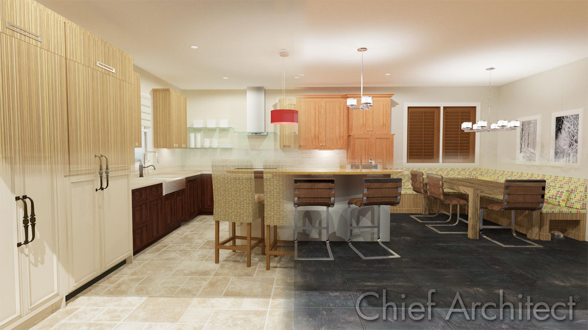 Kitchen design styles catalog details for Kitchen design details