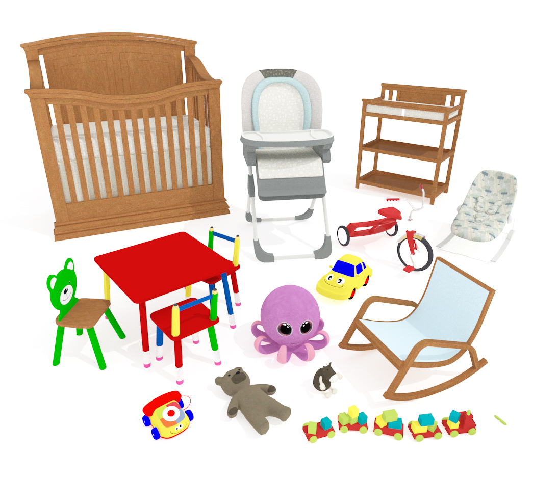 Nursery Items Catalog Details
