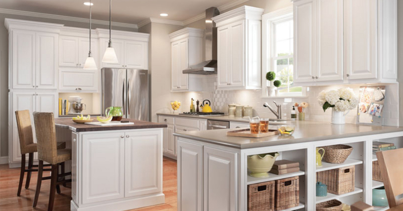 Styles Of White Kitchen Cabinets
