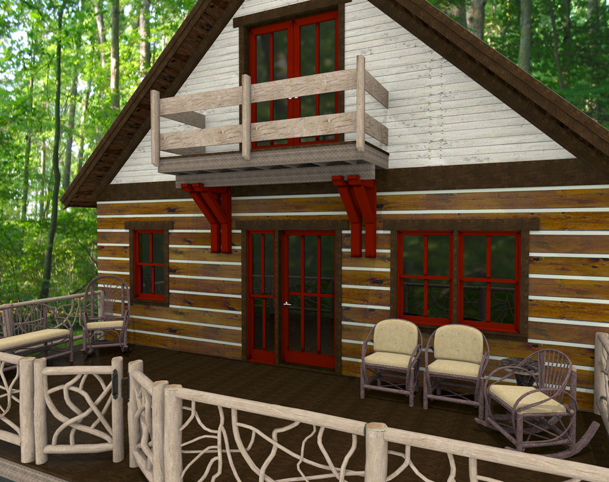Rustic Lodge No.3